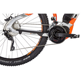 HAIBIKE SDURO HardNine 8.0 E-mountainbike orange/sølv